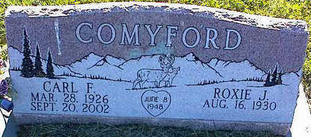 COMYFORD, ROXIE J. - La Plata County, Colorado | ROXIE J. COMYFORD - Colorado Gravestone Photos