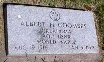 COOMBES, ALBERT H. - La Plata County, Colorado | ALBERT H. COOMBES - Colorado Gravestone Photos