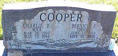 COOPER, CHARLIE B. - La Plata County, Colorado   CHARLIE B. COOPER - Colorado Gravestone Photos