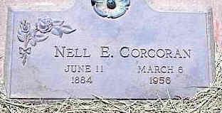 CORCORAN, NELL E. - La Plata County, Colorado   NELL E. CORCORAN - Colorado Gravestone Photos