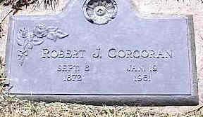 CORCORAN, ROBERT J. - La Plata County, Colorado   ROBERT J. CORCORAN - Colorado Gravestone Photos