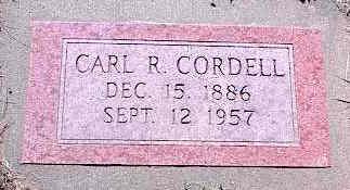 CORDELL, CARL R. - La Plata County, Colorado | CARL R. CORDELL - Colorado Gravestone Photos