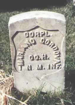 CORDOVA, MARIANO - La Plata County, Colorado   MARIANO CORDOVA - Colorado Gravestone Photos