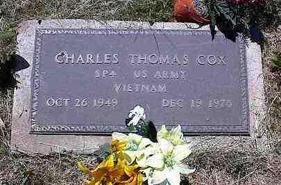 COX, CHARLES THOMAS - La Plata County, Colorado   CHARLES THOMAS COX - Colorado Gravestone Photos