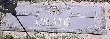 CRAIG, EVA M. - La Plata County, Colorado | EVA M. CRAIG - Colorado Gravestone Photos