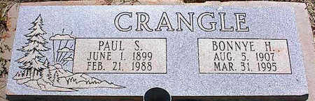 CRANGLE, PAUL S. - La Plata County, Colorado | PAUL S. CRANGLE - Colorado Gravestone Photos