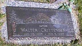 CRITTENDEN, WALTER - La Plata County, Colorado | WALTER CRITTENDEN - Colorado Gravestone Photos