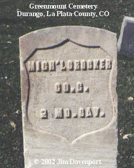 CROCKER, MICH'L - La Plata County, Colorado | MICH'L CROCKER - Colorado Gravestone Photos