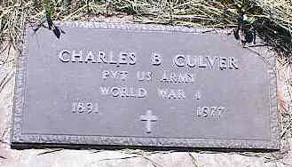 CULVER, CHARLES B. - La Plata County, Colorado | CHARLES B. CULVER - Colorado Gravestone Photos