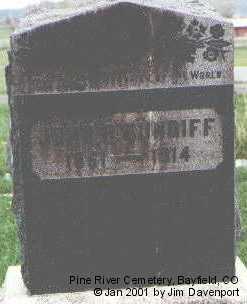 CUNDIFF, JOHN R. - La Plata County, Colorado | JOHN R. CUNDIFF - Colorado Gravestone Photos