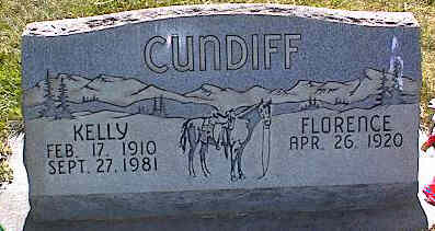 CUNDIFF, KELLY - La Plata County, Colorado | KELLY CUNDIFF - Colorado Gravestone Photos
