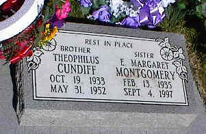 MONTGOMERY, E. MARGARET - La Plata County, Colorado | E. MARGARET MONTGOMERY - Colorado Gravestone Photos