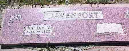 DAVENPORT, WILLIAM V. - La Plata County, Colorado | WILLIAM V. DAVENPORT - Colorado Gravestone Photos
