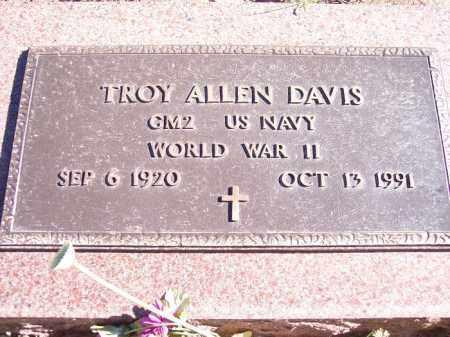 DAVIS, TROY ALLEN - La Plata County, Colorado   TROY ALLEN DAVIS - Colorado Gravestone Photos
