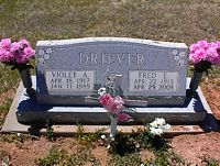 DRIEVER, VIOLET A. - La Plata County, Colorado | VIOLET A. DRIEVER - Colorado Gravestone Photos