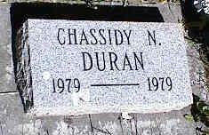 DURAN, CHASSIDY N. - La Plata County, Colorado | CHASSIDY N. DURAN - Colorado Gravestone Photos