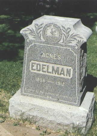 EDELMAN, AGNES - La Plata County, Colorado | AGNES EDELMAN - Colorado Gravestone Photos