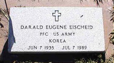 EISCHEID, DARALD EUGENE - La Plata County, Colorado | DARALD EUGENE EISCHEID - Colorado Gravestone Photos