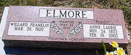 ELMORE, ANNIE LAURIE - La Plata County, Colorado | ANNIE LAURIE ELMORE - Colorado Gravestone Photos