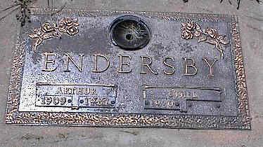 ENDERSBY, ARTHUR - La Plata County, Colorado | ARTHUR ENDERSBY - Colorado Gravestone Photos