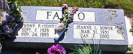FANTO, ANTHONY P. - La Plata County, Colorado | ANTHONY P. FANTO - Colorado Gravestone Photos