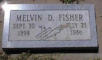 FISHER, MELVIN D. - La Plata County, Colorado | MELVIN D. FISHER - Colorado Gravestone Photos