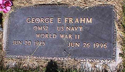FRAHM, GEORGE E. - La Plata County, Colorado | GEORGE E. FRAHM - Colorado Gravestone Photos