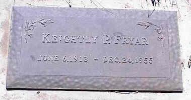 FRYER, KEIGHTLY P. - La Plata County, Colorado | KEIGHTLY P. FRYER - Colorado Gravestone Photos