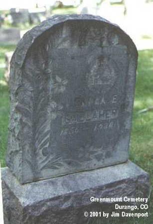 GALLAHER, LENORA E. - La Plata County, Colorado   LENORA E. GALLAHER - Colorado Gravestone Photos