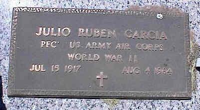 GARCIA, JULIO RUBEN - La Plata County, Colorado   JULIO RUBEN GARCIA - Colorado Gravestone Photos