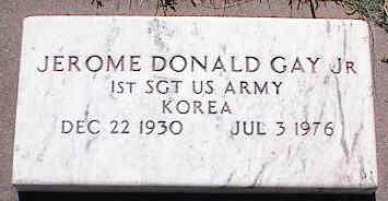 GAY, JR., JEROME DONALD - La Plata County, Colorado | JEROME DONALD GAY, JR. - Colorado Gravestone Photos