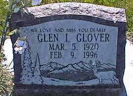 GLOVER, GLEN I. - La Plata County, Colorado | GLEN I. GLOVER - Colorado Gravestone Photos