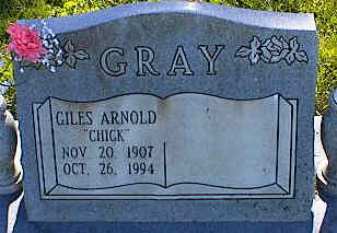 GRAY, GILES ARNOLD - La Plata County, Colorado | GILES ARNOLD GRAY - Colorado Gravestone Photos