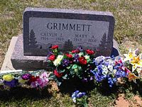 GRIMMETT, MARY A. - La Plata County, Colorado | MARY A. GRIMMETT - Colorado Gravestone Photos