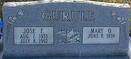 GURULE, JOSE F. - La Plata County, Colorado | JOSE F. GURULE - Colorado Gravestone Photos