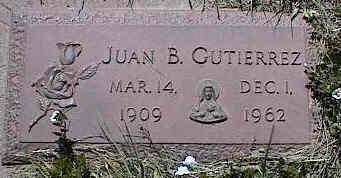 GUTIERREZ, JUAN B. - La Plata County, Colorado | JUAN B. GUTIERREZ - Colorado Gravestone Photos