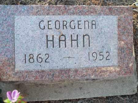 HAHN, GEORGENA - La Plata County, Colorado | GEORGENA HAHN - Colorado Gravestone Photos
