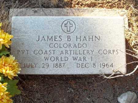 HAHN, JAMES B. - La Plata County, Colorado   JAMES B. HAHN - Colorado Gravestone Photos