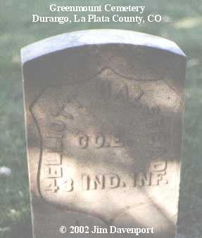 HALSTEAD, ELLIOTT - La Plata County, Colorado | ELLIOTT HALSTEAD - Colorado Gravestone Photos