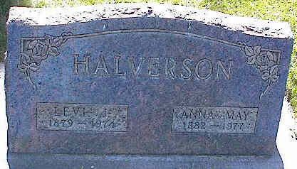 HALVERSON, ANNA MAY - La Plata County, Colorado | ANNA MAY HALVERSON - Colorado Gravestone Photos