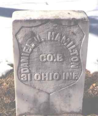 HAMILTON, DANIEL V. - La Plata County, Colorado | DANIEL V. HAMILTON - Colorado Gravestone Photos