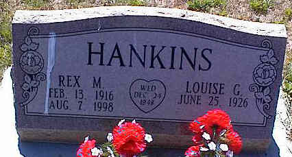 HANKINS, LOUISE G. - La Plata County, Colorado | LOUISE G. HANKINS - Colorado Gravestone Photos