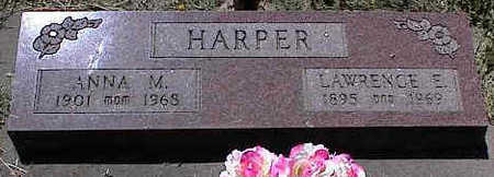 HARPER, LAWRENCE E. - La Plata County, Colorado | LAWRENCE E. HARPER - Colorado Gravestone Photos