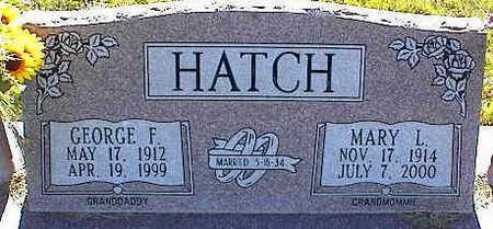 HATCH, MARY L. - La Plata County, Colorado | MARY L. HATCH - Colorado Gravestone Photos