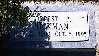 HICKMAN, FORREST P. - La Plata County, Colorado | FORREST P. HICKMAN - Colorado Gravestone Photos