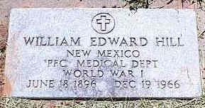 HILL, WILLIAM EDWARD - La Plata County, Colorado | WILLIAM EDWARD HILL - Colorado Gravestone Photos
