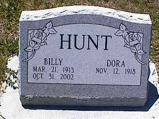 HUNT, DORA - La Plata County, Colorado | DORA HUNT - Colorado Gravestone Photos
