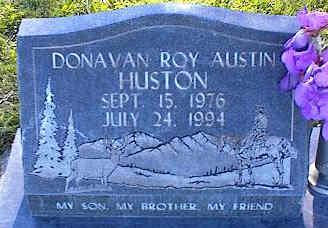 HUSTIN, DONAVAN ROY AUSTIN - La Plata County, Colorado | DONAVAN ROY AUSTIN HUSTIN - Colorado Gravestone Photos