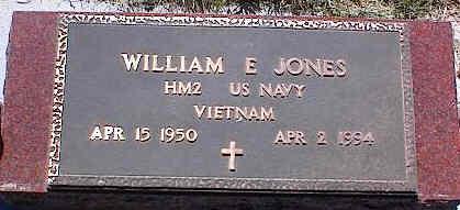 JONES, WILLIAM E. - La Plata County, Colorado | WILLIAM E. JONES - Colorado Gravestone Photos