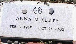 KELLEY, ANNA M. - La Plata County, Colorado | ANNA M. KELLEY - Colorado Gravestone Photos